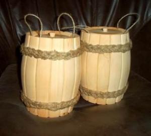Хранение меда в деревянной посуде