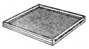 Крышка многокорпусного улья с вентиляционным устройством